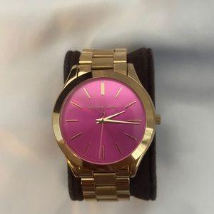 Gold Michael Kors watch